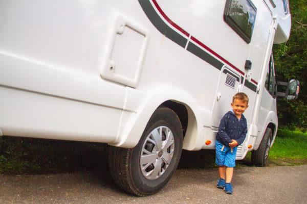 Viajando con Lucas en Autocaravana